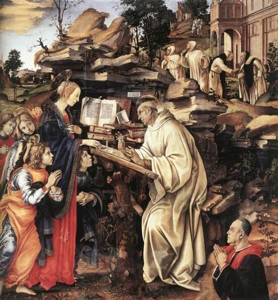 Apparition of The Virgin to St Bernard 1486